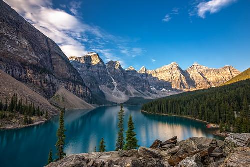 Moraine Lake, Banff Alberta (Explore - Best Position #6 -  March 1, 2016)