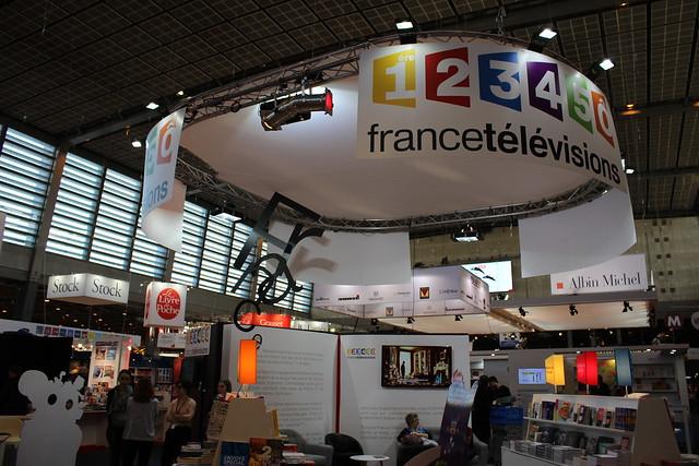 France Télévisions - Livre Paris 2016