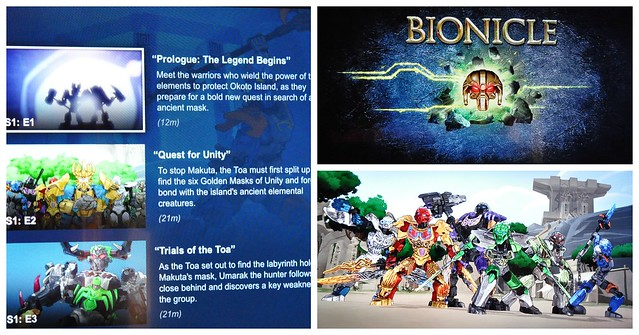 LEGO Bionicle on Netlfix