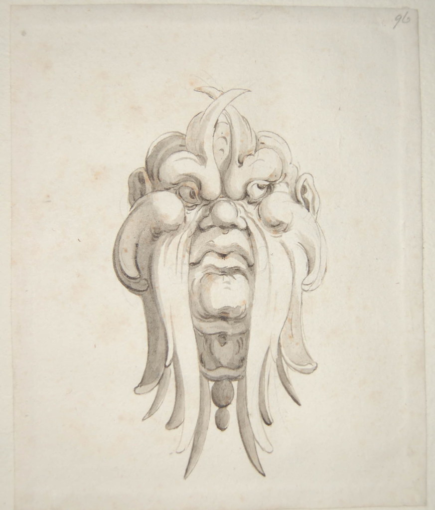 Arent van Bolten - Monster 96, from collection of 425 drawings, 1588-1633