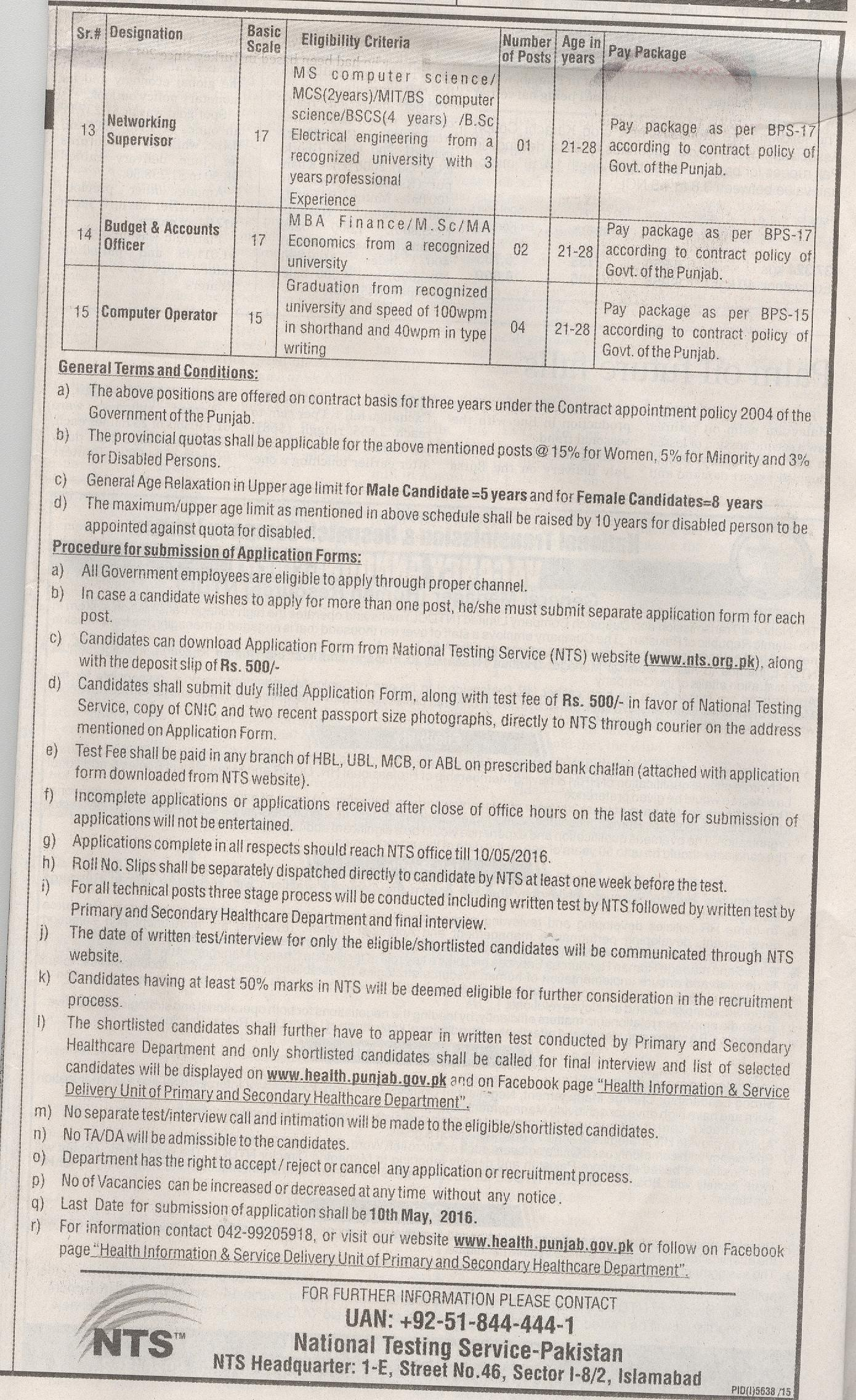 Drugs Testing Laboratory Part 2 Jobs 2016