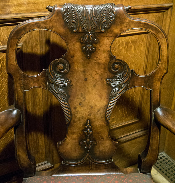 I See Faces - Lion Face Chair
