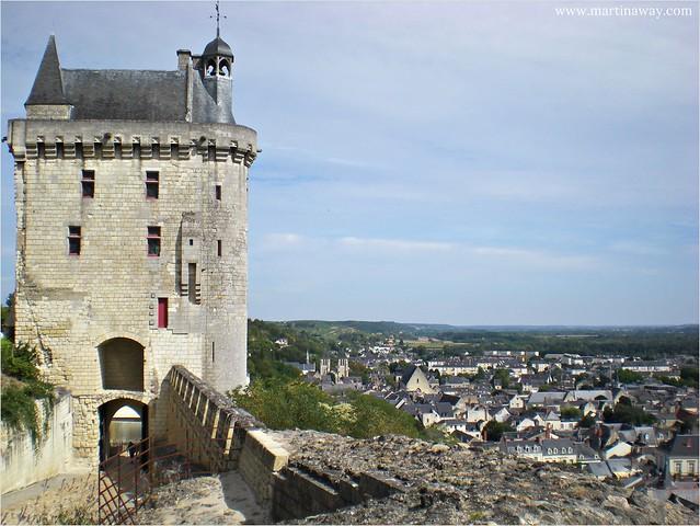 Castello di Chinon, Castelli della Loira