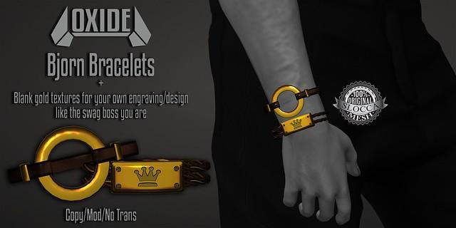 OXIDE Bjorn Bracelets