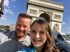 Obligatory Arc de Triomphe selfie