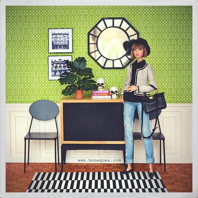 Mi nueva planta. Tutorial en www.bonequea.com