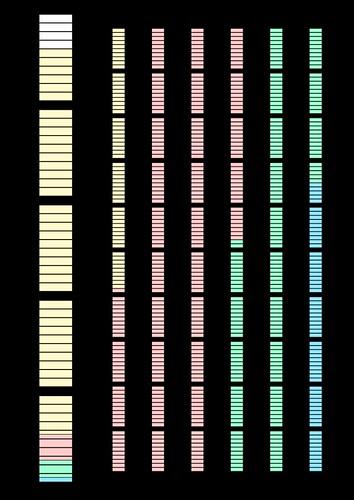 地質年代畫圖-彩色