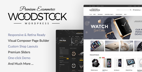 Woodstock v1.9.1 - Electronics Responsive WooCommerce Theme