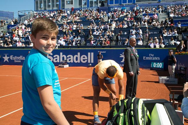 Escort Kids con Rafael Nadal