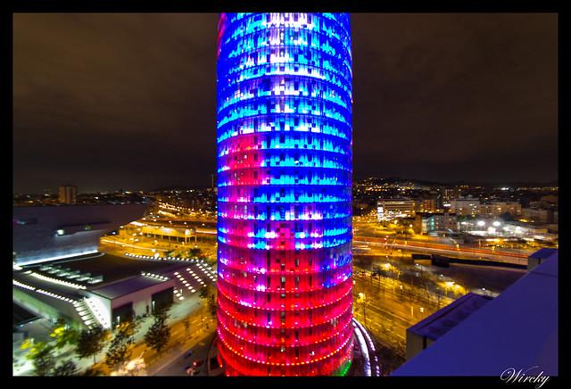 Fotografías Torre Agbar Barcelona - Parte media de Torre Agbar