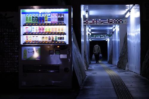 大津 高架下 トンネル
