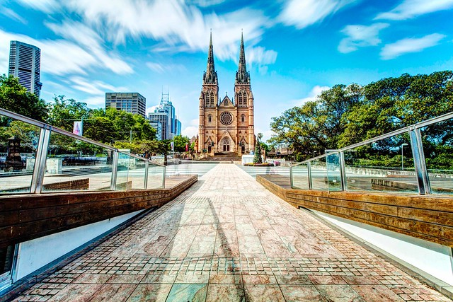 St Mary's Cathedral : HDR