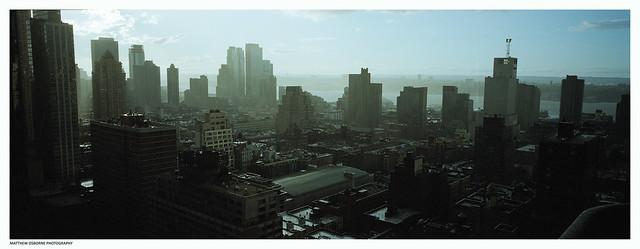 Hasselblad XPan Cityscape