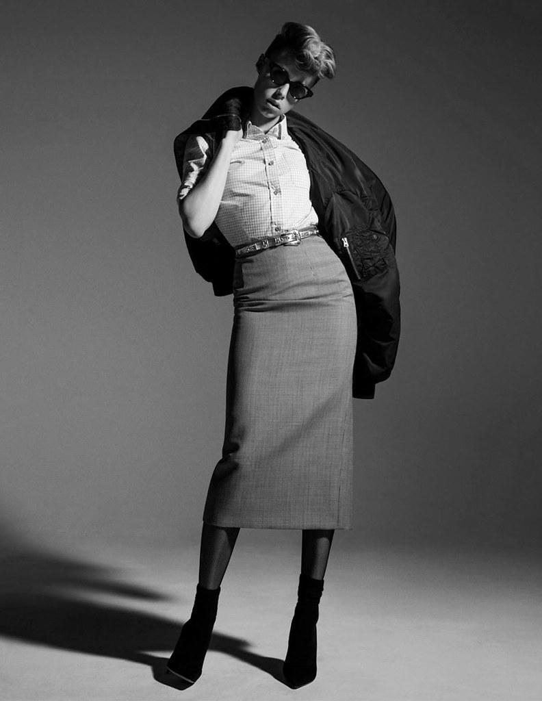 Эди Кэмпбелл — Фотосессия для «Vogue» FR 2016 – 16