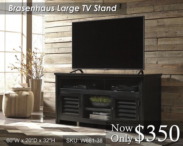 Brasenhaus Large TV W661-38