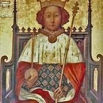 Richard II seized Holt Castle from the earl of Arundel and converted into his private treasure store. The original painting of Richard II hangs inside Westminster Abbey. © Dean and Chapter of Westminster Abbey