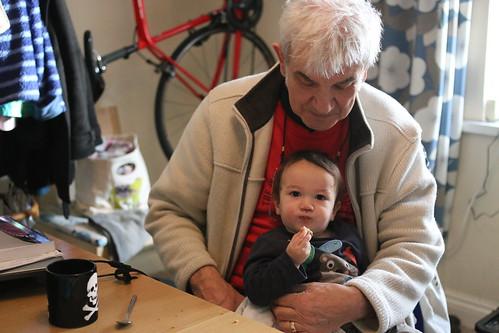 Granddad and Keiki