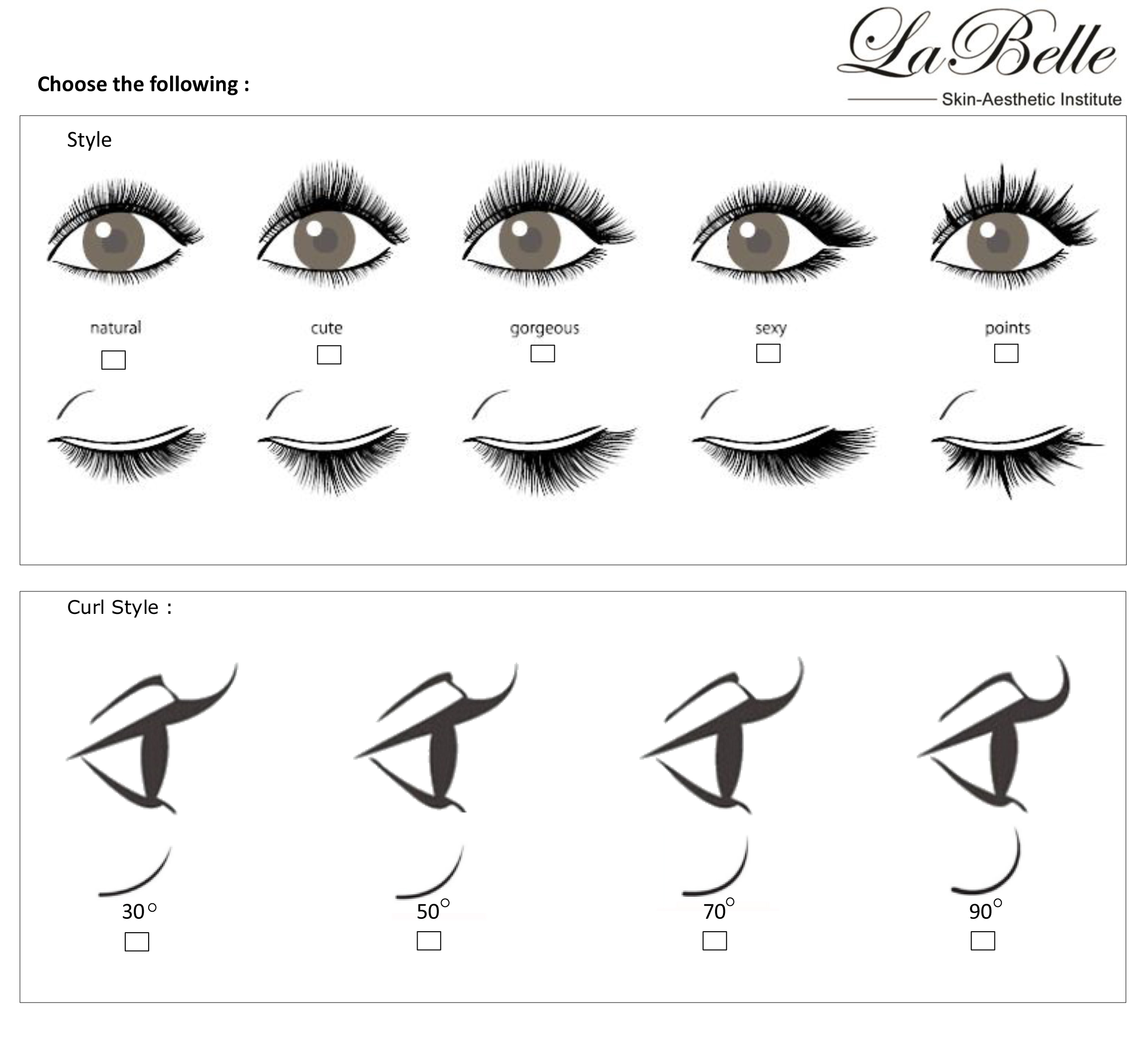la belle eyelash extension