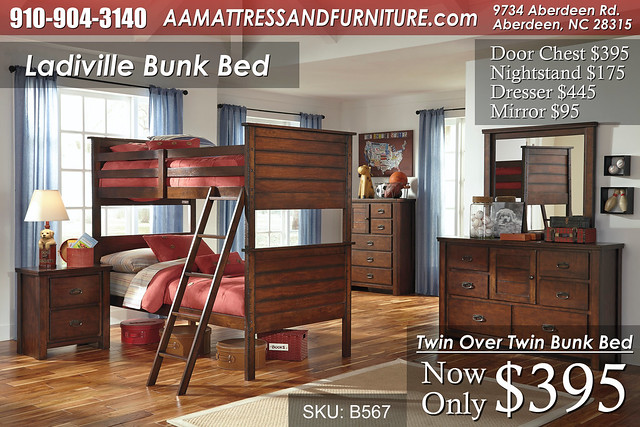 Ladiville Bunk Bedroom WM