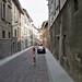 Bajando a la Academia Carrara