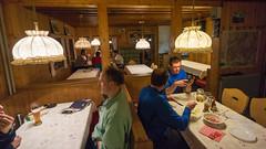 Jadalnia schroniska Langtalerhütte 2450m