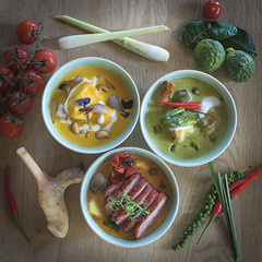 Thai Curry Selection