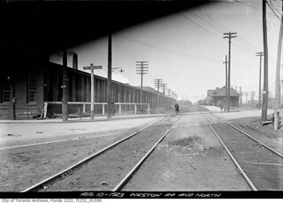 Weston Road and West Toronto CNR Station