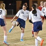 LEHS Womens JV Soccer vs Nations Ford 2-17-16