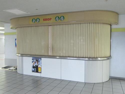 京都競馬場の空き売店