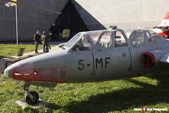 458 5-MF - 458 - French Air Force - Fouga CM-170 R Magister - Polish Aviation Musuem - Krakow, Poland - 151010 - Steven Gray - IMG_9670