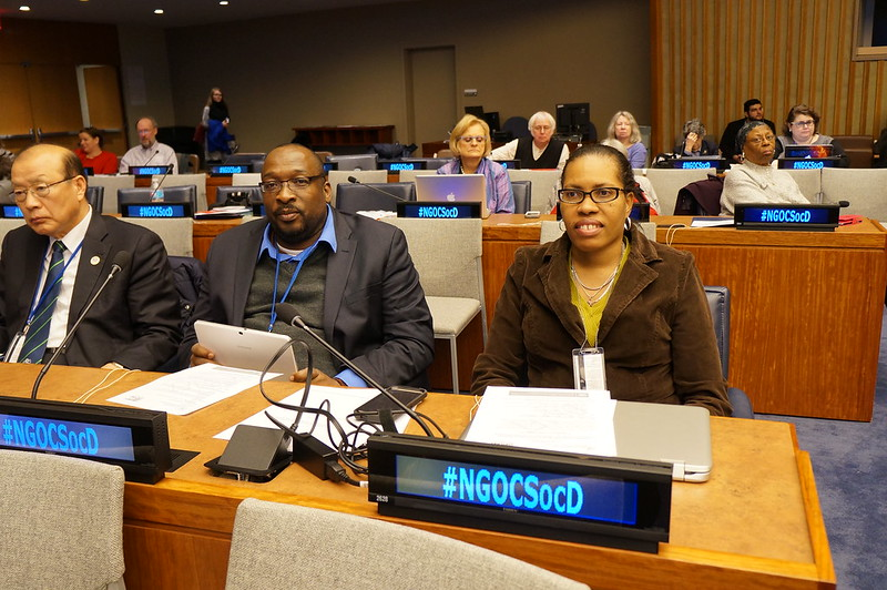 Civil Society Forum - CSocD54