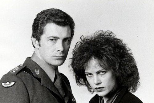 Who Dares Wins - Promo Photo 1 - Lewis Collins and Judy Davis