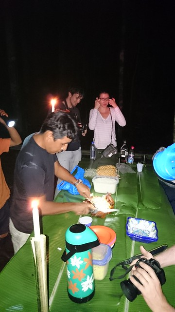 supper table amazon rainforest camping