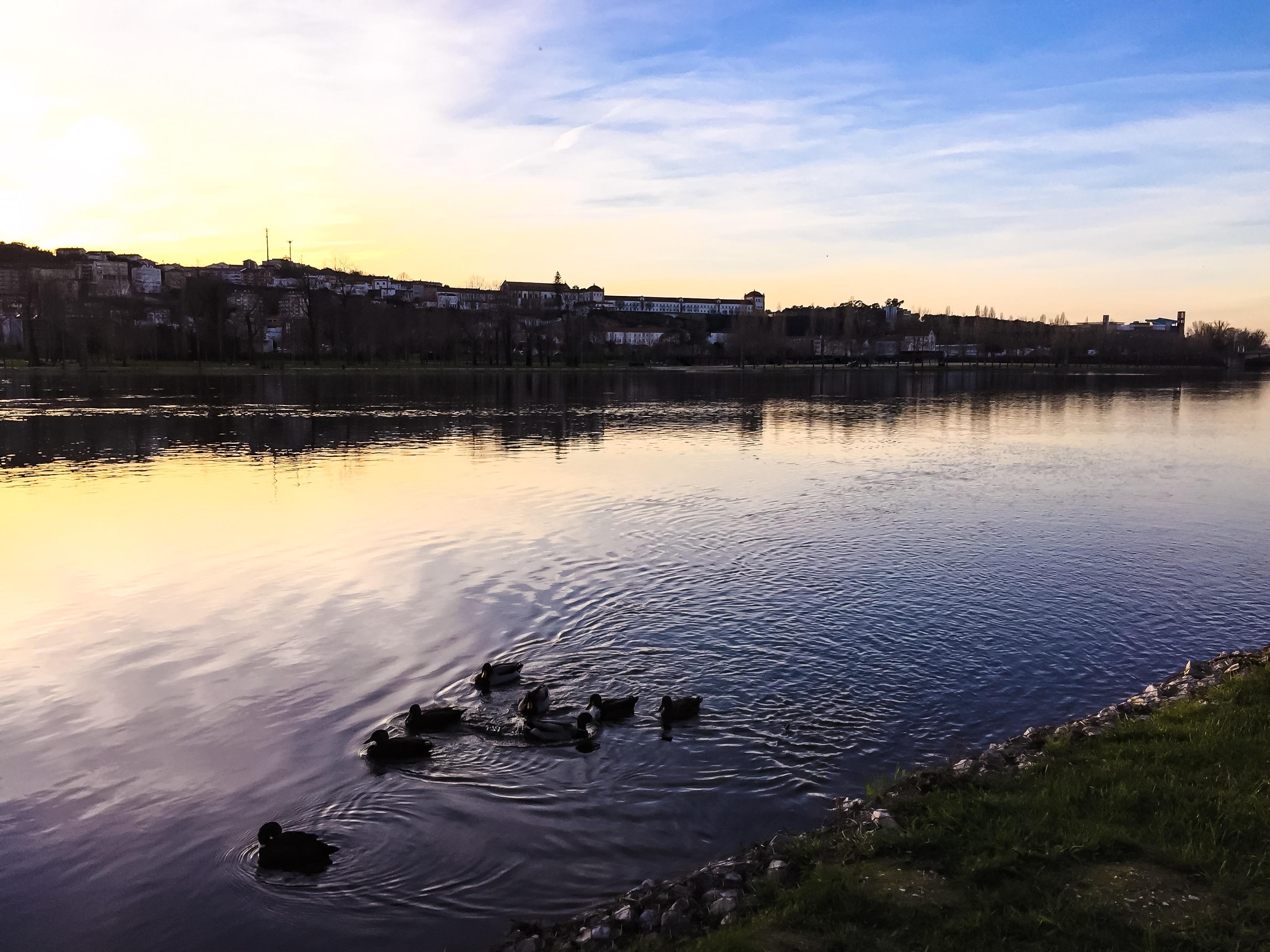 6 on 6 - Lugares que Gostamos - Coimbra, Margens do rio Mondego