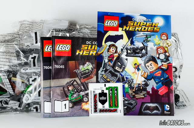 REVIEW LEGO 76045 DC Comics Batman Kryptonite Interception 03