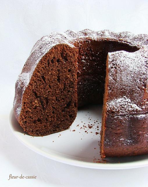 шоколадный пряный кекс 2