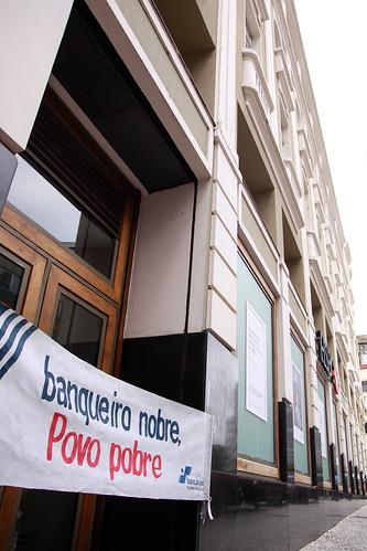 Paralisação no CA HSBC Palácio Avenida