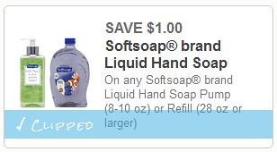 photograph relating to Softsoap Printable Coupon titled $1.00 Softsoap Hand Cleaning soap at Meijer with Clean Coupon! - The