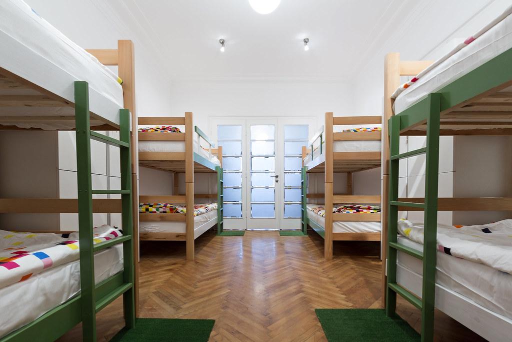 Dormir en un hostel