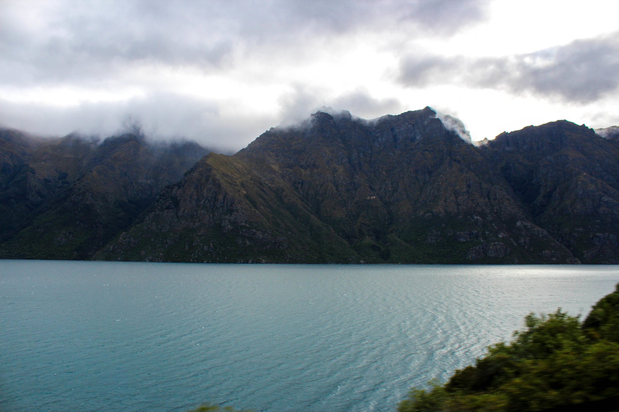 drive from Queenstown to Milford Sound