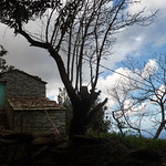 Ikaria's remotest hinterland 02 - the last house of the village