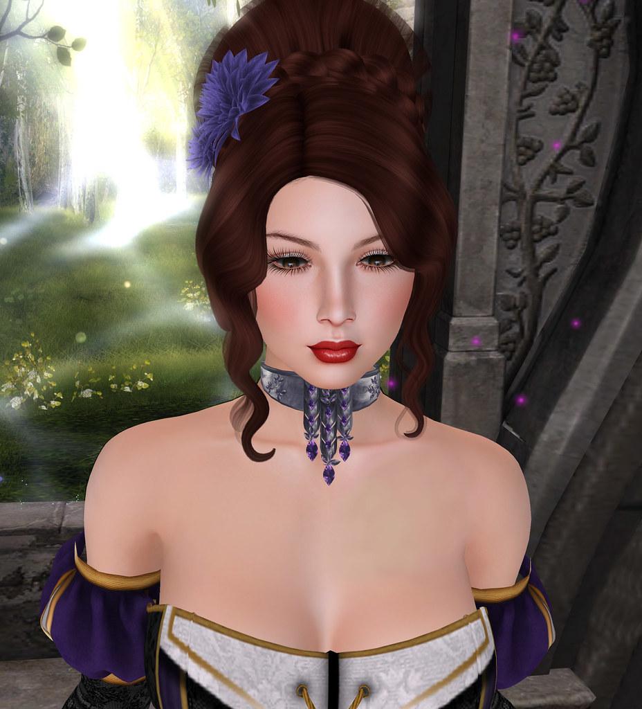 Lumae skin, EMO-tions hair, Zuri Rayna Jewelry