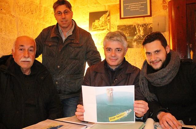 nicola tanese pasquale sportelli franco Mancini michele calzolaro no petrolio trivelle