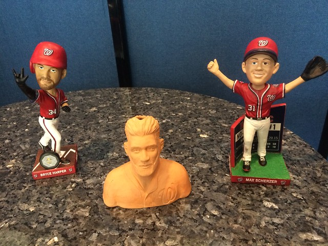 Washington Nationals 2016 Bobbleheads