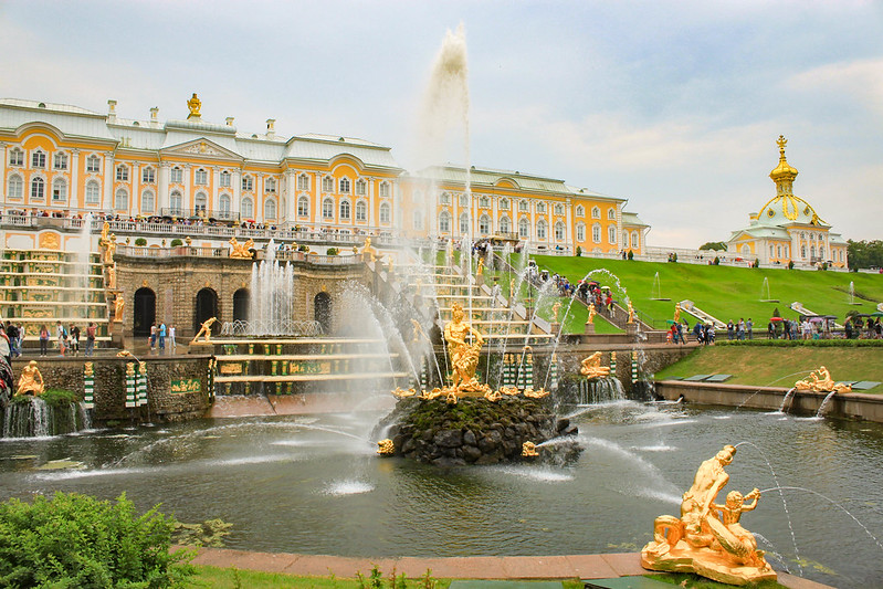 Image result for peterhof gardens