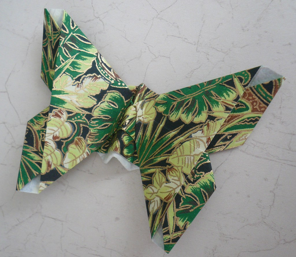 Handmade by Deb: Michael LaFosse's Origami Butterflies ... - photo#21