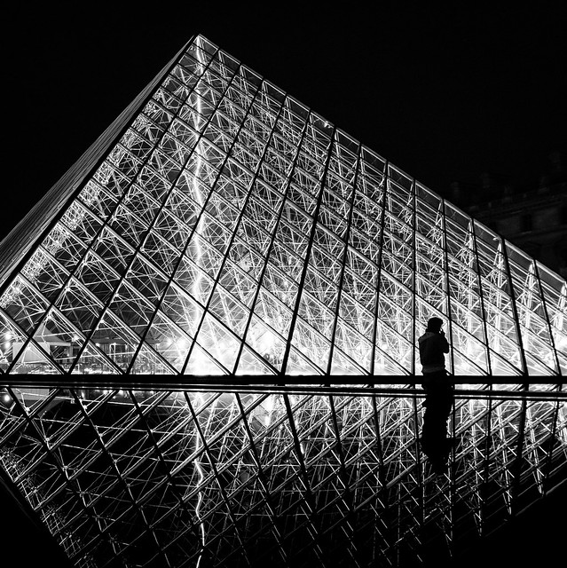 After Hours at the Louvre
