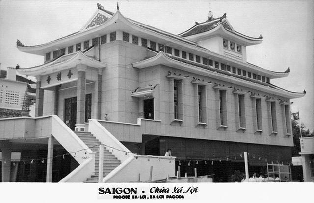 SAIGON - Chùa Xá Lợi - Một trung tâm đấu tranh chống chính quyền của TT Diệm