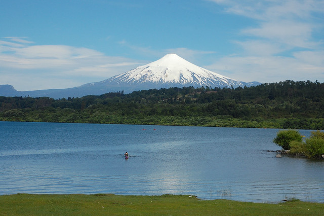 Views of Lago Villarica from Villarica, Chile