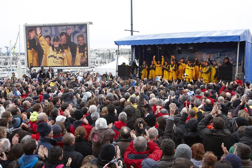 """""""BANQUE POPULAIRE V""""  TROPHEE JULES VERNE 2012."""